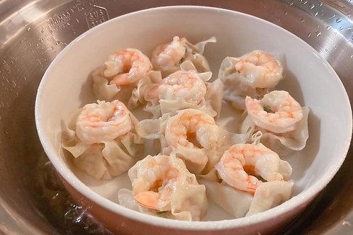 高麗菜蝦蝦水餃 (NT$10/顆, 每包30顆)