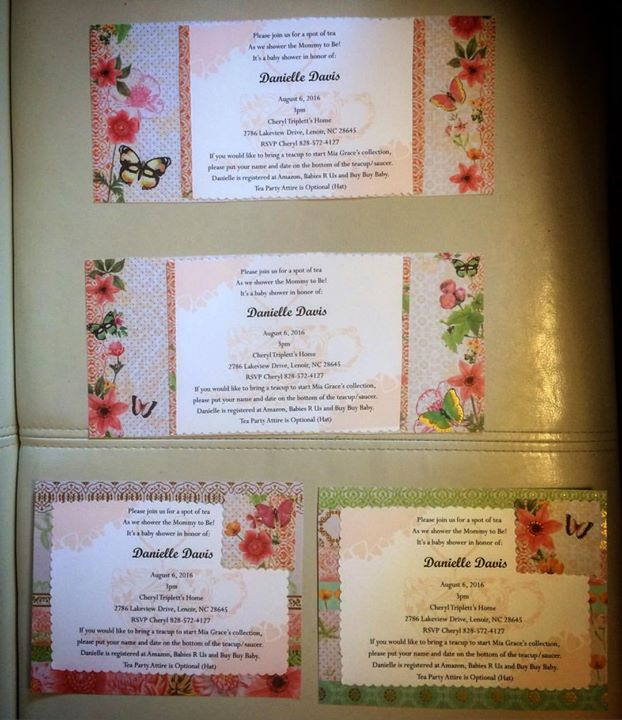 #handmade #invitations #designsbytrena
