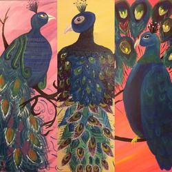 #peacock #designsbytrena