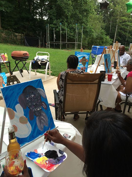 Facebook - Painting party success! Book your party!!!