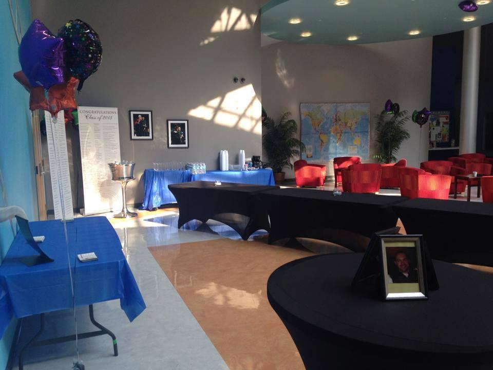 GNLI Orientation Class 2015 buffet table