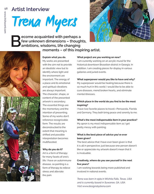 Designs by Trena Featured Article