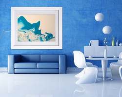 Abstract Canvas Painting