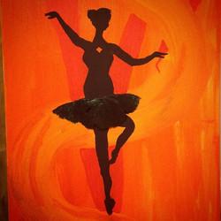 Facebook - #enchanting #dancer #mixedmedia #sanddollar #ballerina #designsbytrena
