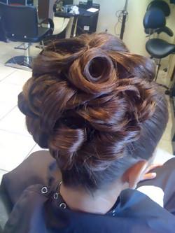 Top View Barrel Curls