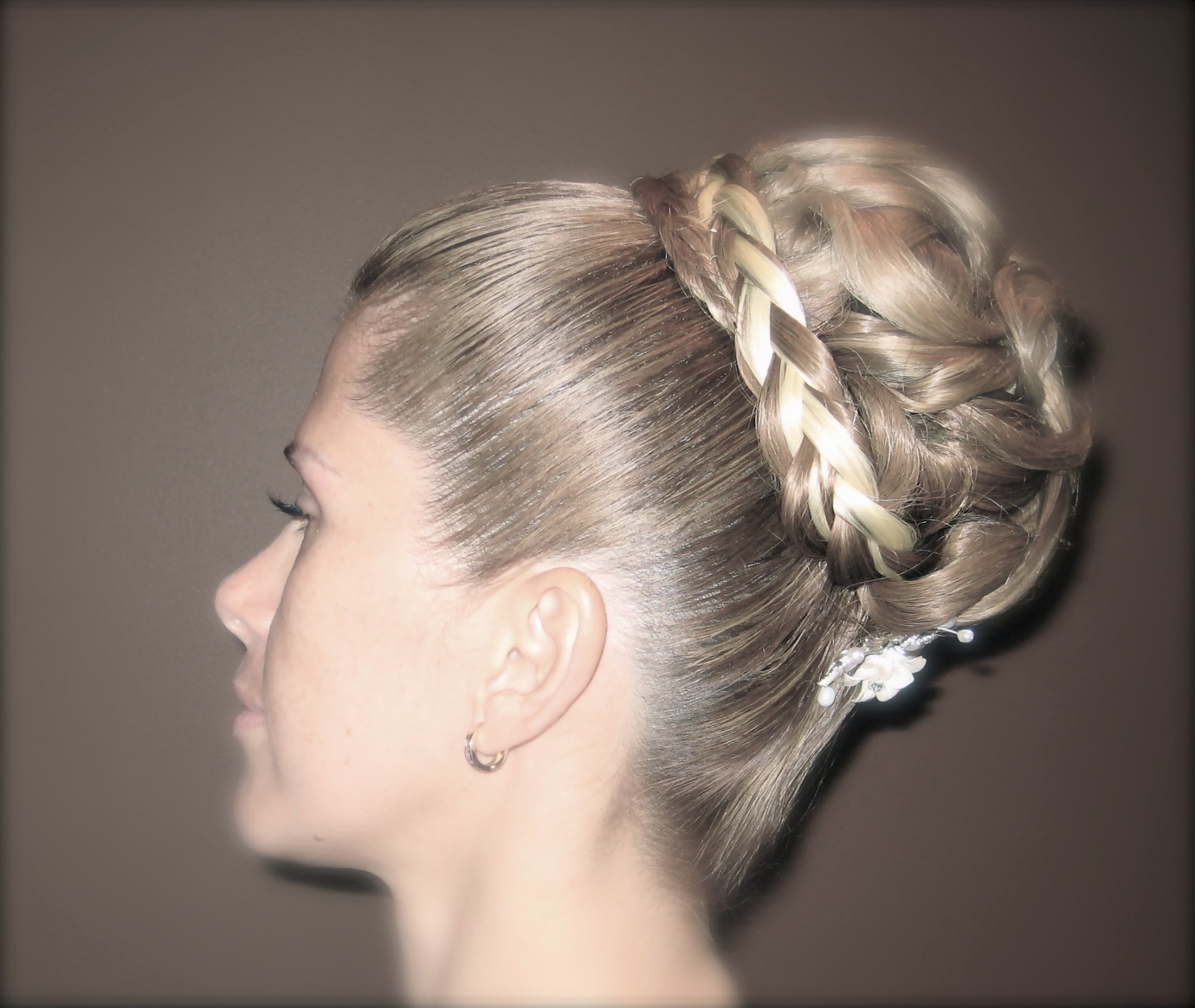 Regal Up-do style
