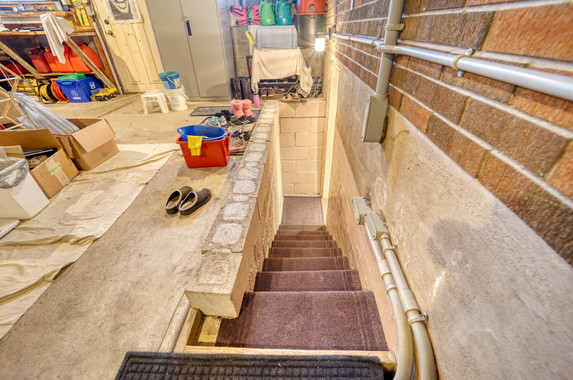 Stairs to basement from garage.jpeg