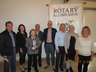 Visit to Edinburgh & Godrun Rotary Clubs