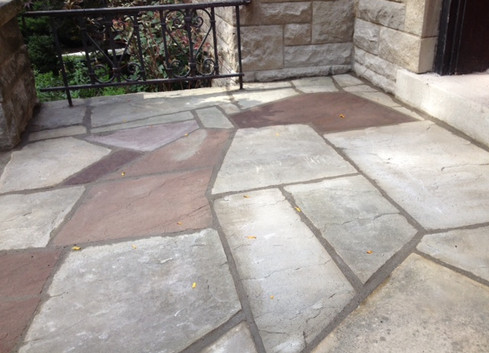 Flagstone front step 1_2