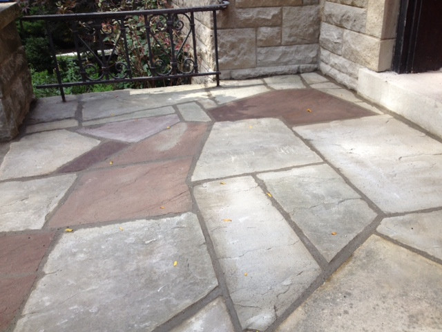 Flagstone front step_2