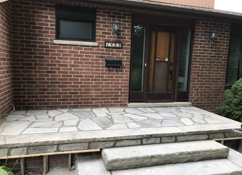 Flagstone front step 2_2