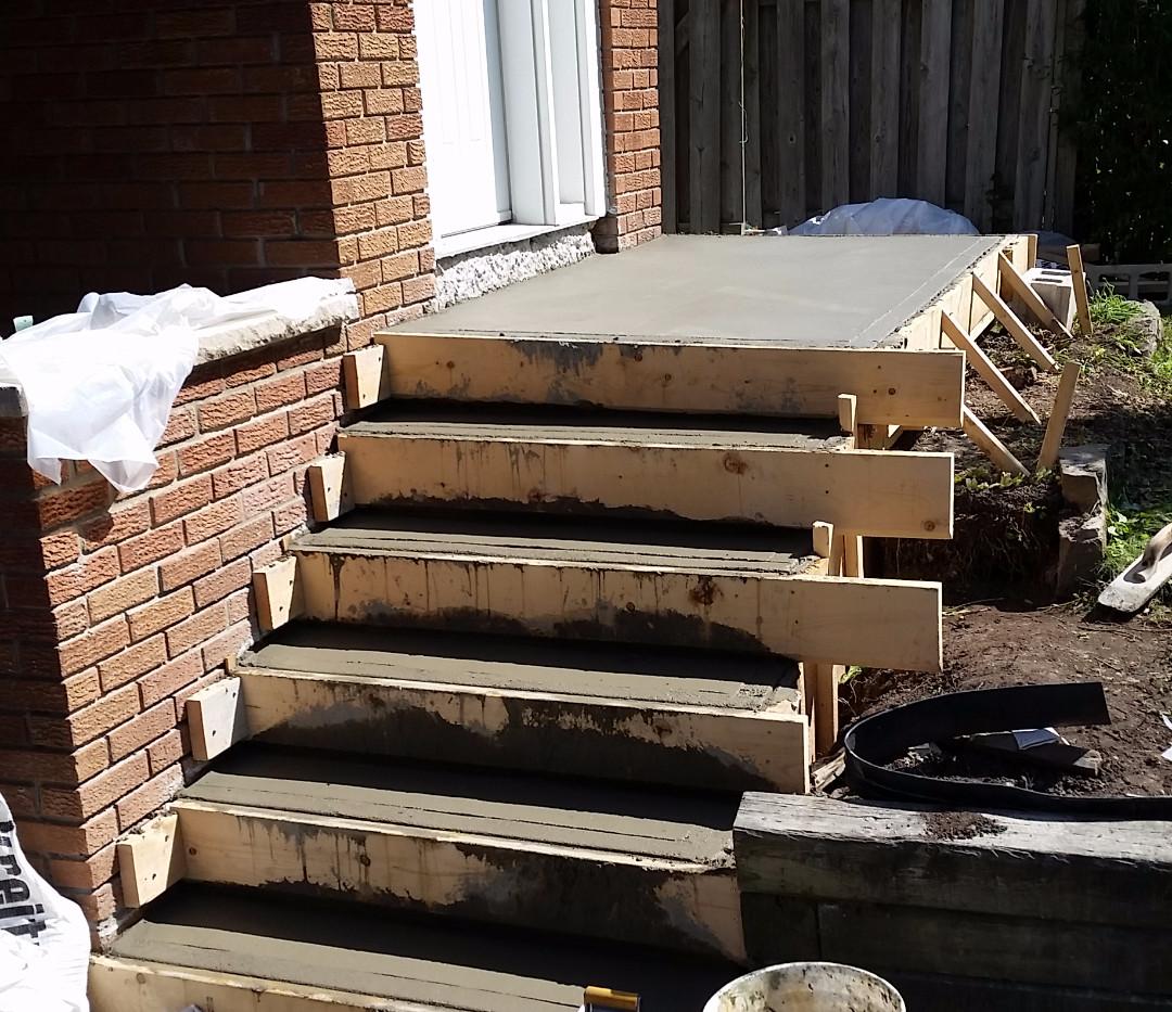Poured Concrete Steps 3_1