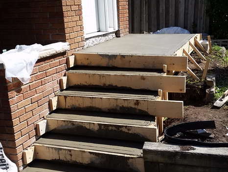 Poured Concrete Steps 3_1