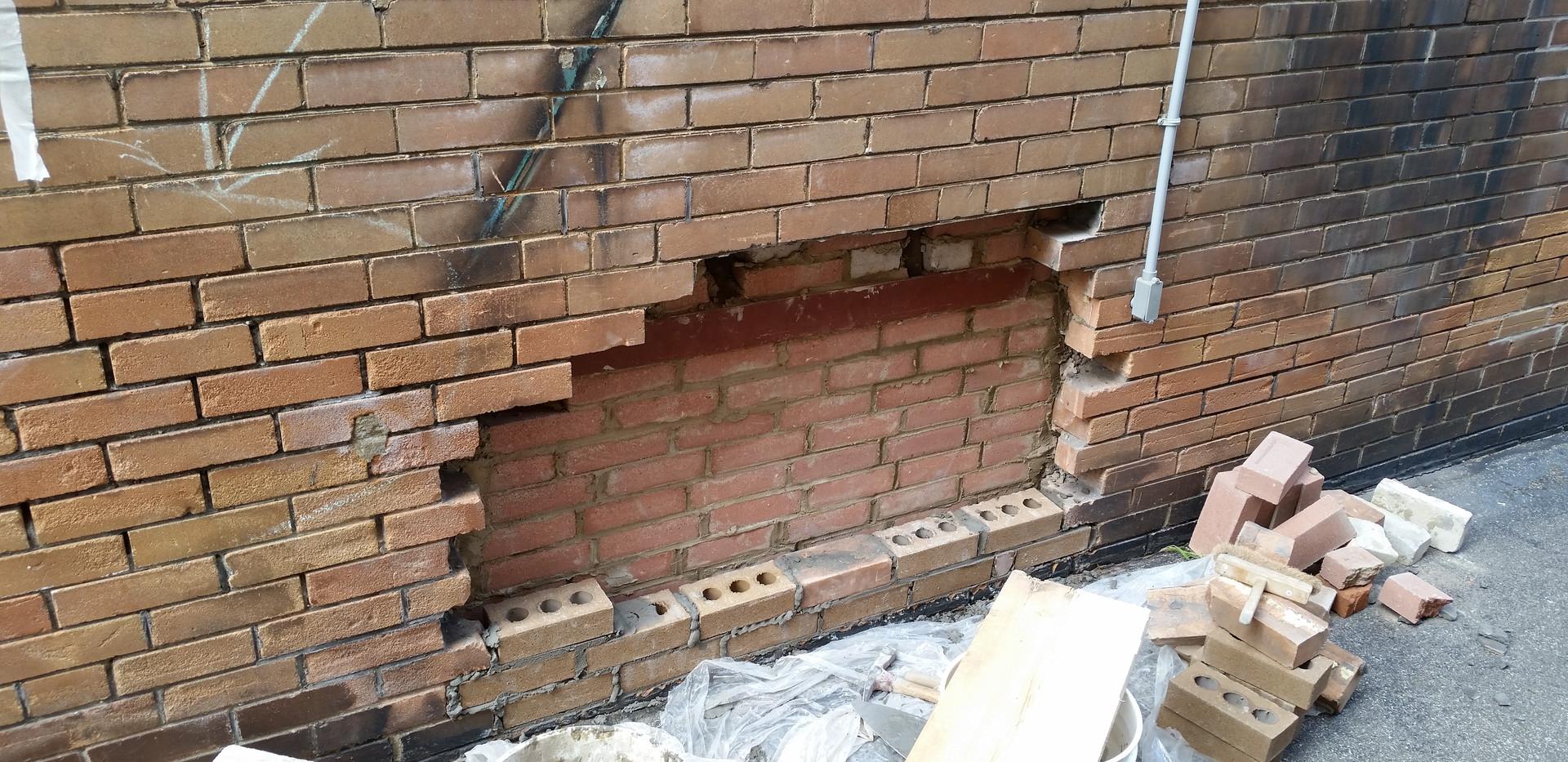Brick replacment