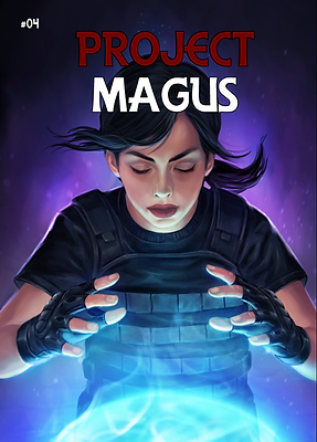 Project Magus Issue #4 Combo Pack