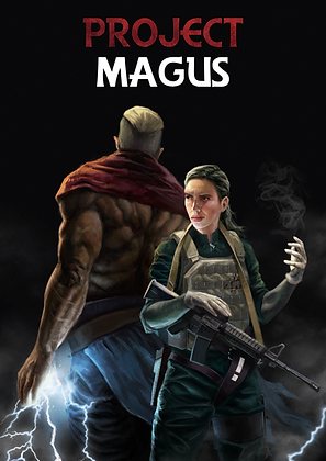 Project Magus Issue #01 Digital Copy