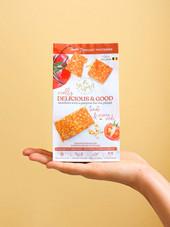 Crackers Tomate & Graines de Sésame