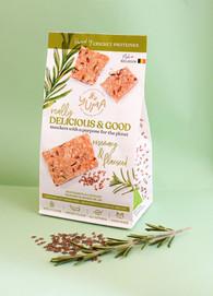 Crackers Romarin & Graines de Lin
