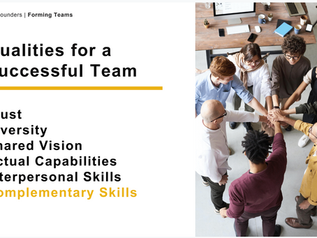 The Importance of Building the Right Team