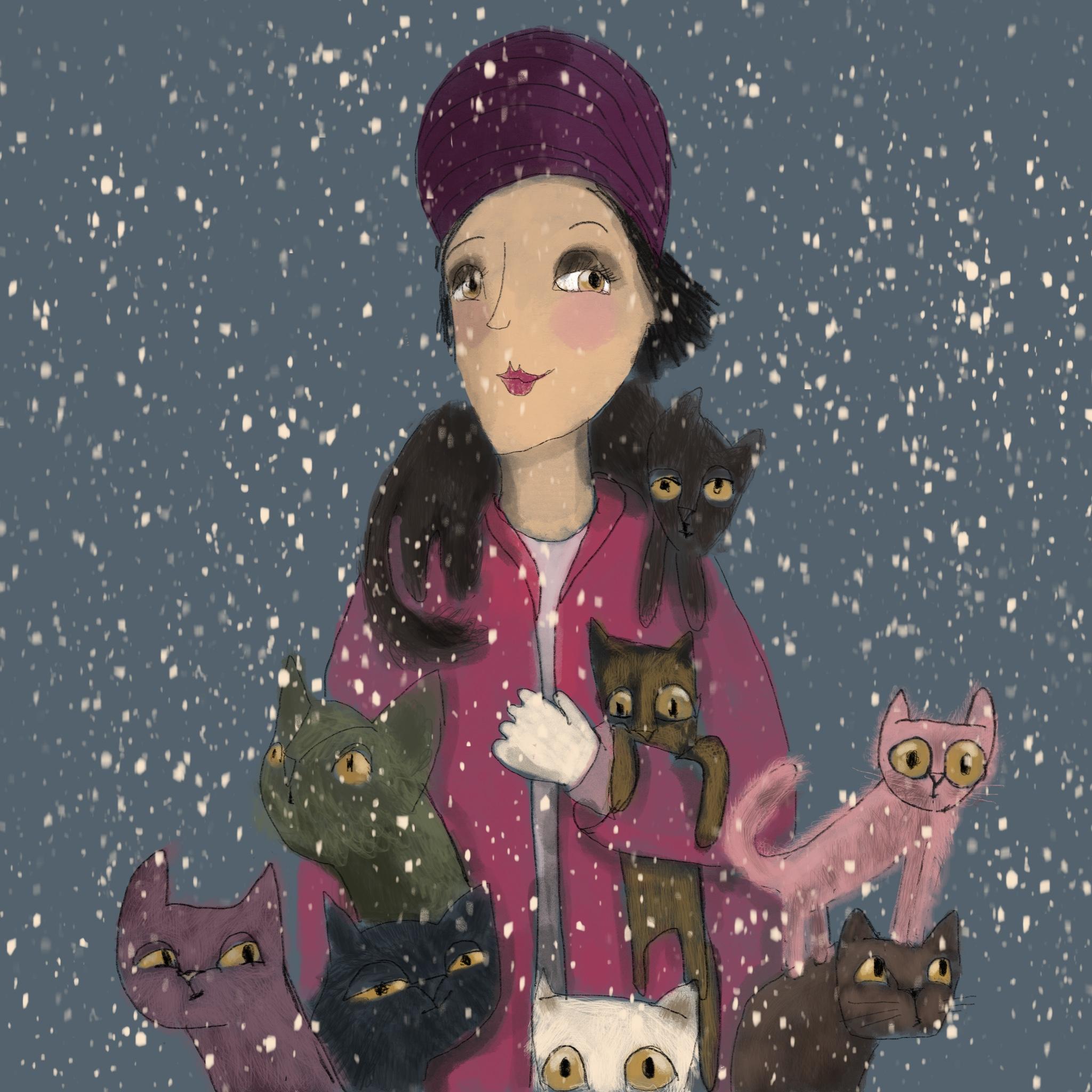 lovely cat lady