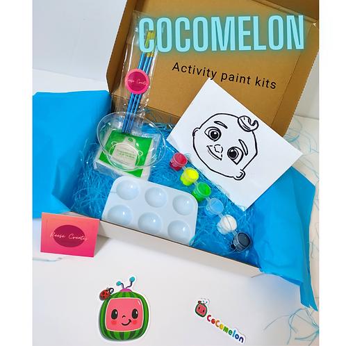 Cocomelon Activity Paint Kits Custom Paint Kits
