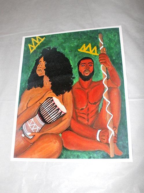 KINGDOM COUPLE PRINTS
