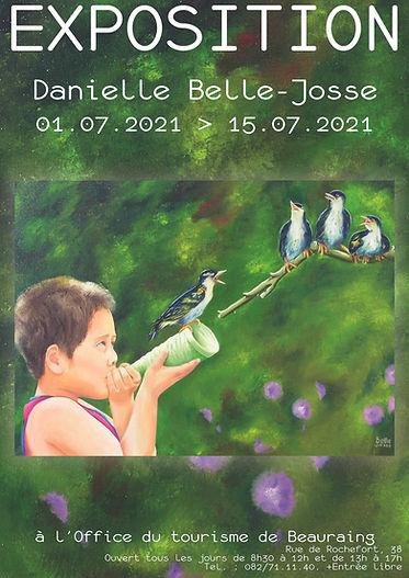 Affiche Beauraing Belle-Josse juillet 20