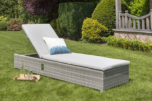 PRE ORDER LIFE Aya Weave Lounger yacht weave with Carbon Cushion only