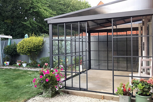 Knightsbridge Deluxe 3x3.6 Enclosed Wall Mounted Sun shelter