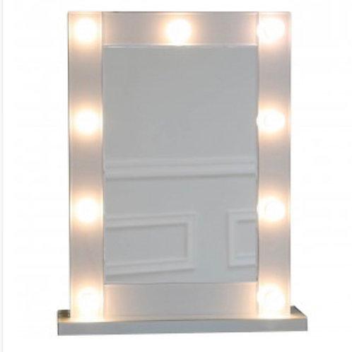 Grey Manhattan Mirror Broadway 9 Light Vanity Mirror