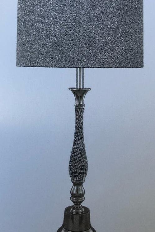 Silver Floor Lamp Large