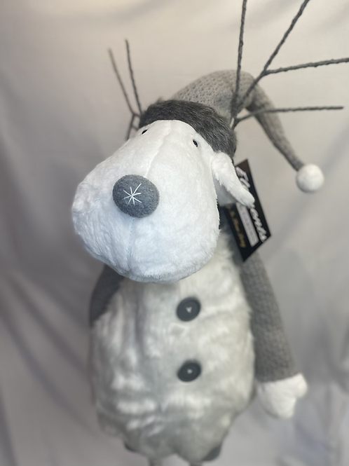 Adjustable white reindeer
