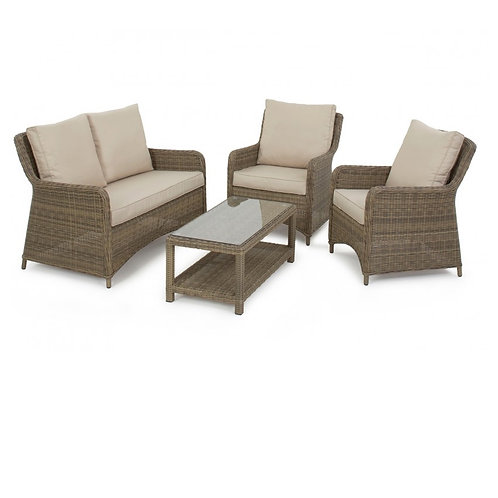 WINCHESTER SQUARE  HIGH BACK SOFA SET