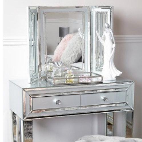 Grey Manhattan Vanity Mirror
