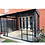 Thumbnail: Knightsbridge Deluxe 3x4.8 Enclosed Wall Canopy with Retractable Roof and Sides