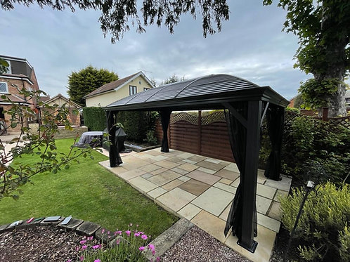 Lorenzo Grande  Deluxe 10x16ft Galvanized Roof