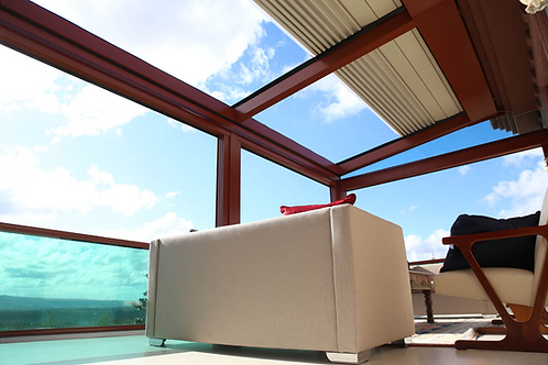Pitched Retractable Roof System With Climate Control ENQUIRY