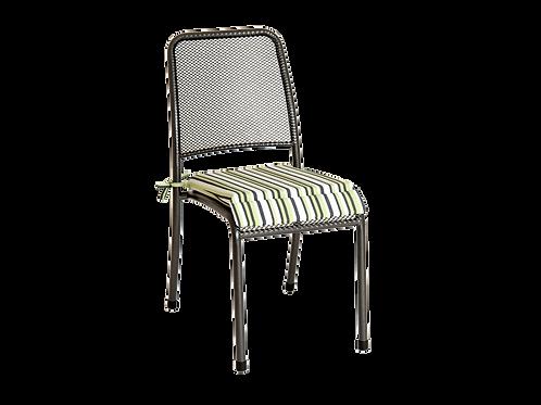 Portofino Chair Cushion – Green Stripe