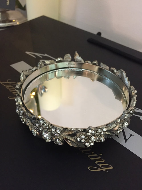 Small Jewelled Candle Stand/Coaster