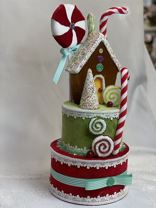 Candy land tree topper