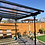 Thumbnail: Glass Roof Wall Mounted Modern Style Veranda (variable option)