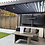 Thumbnail: Knightsbridge 3m x 4m Gazebo Louvered Shuttered Roof System