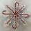 Thumbnail: Large snowflake candycane