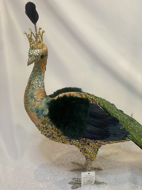 XL ornate peacock