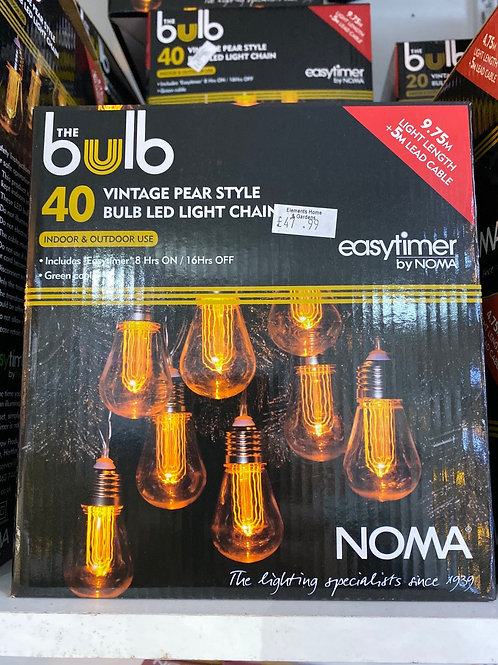 40 Noma  Vintage LED Lights