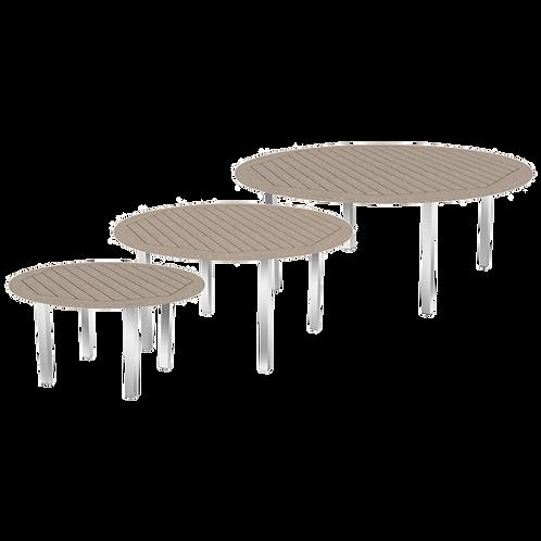 Silverstone Round Tables 109cm 150cm 180cm