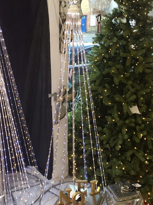 Medium Sprung Led Tree with Star