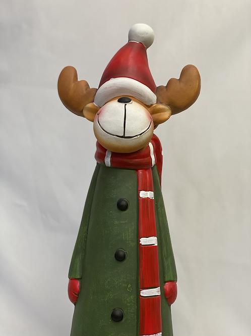 Resin Reindeer statue