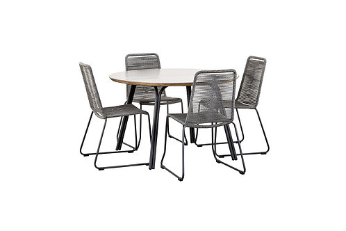 Simi Round Dining Table