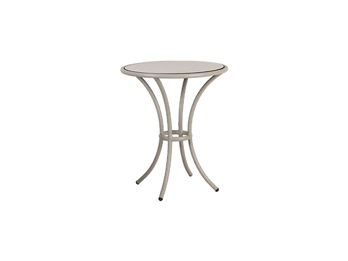 Cordial Beige Bistro table stand HPL Top 0.625cm
